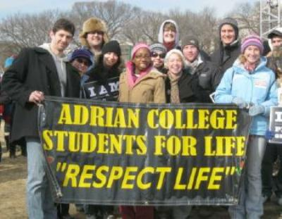 Adrian College Students for Life