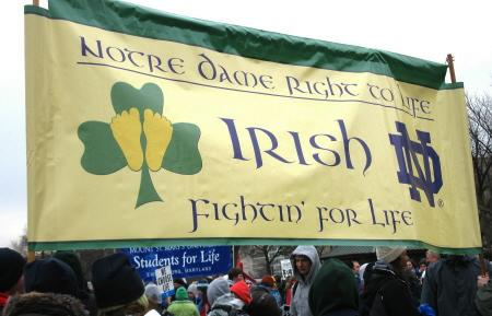 Notre Dame Right to Life/Irish Fightin' for Life
