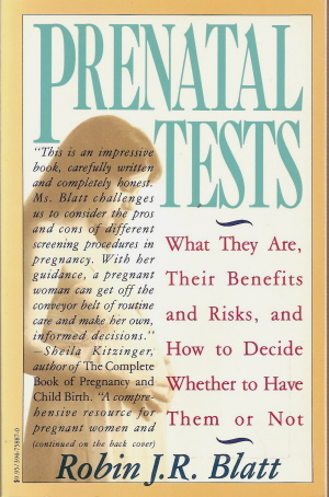 Book cover of Robin J. R. Blatt's <em>Prenatal Tests</em>