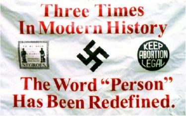 Banner: 'Three Times in Modern History the Word