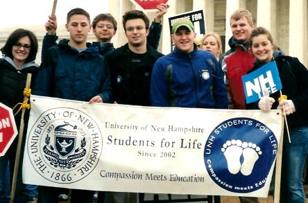 University of New Hampshire Students for Life